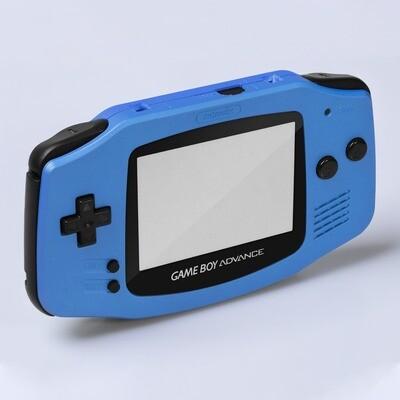 Game Boy Advance IPS USB-C Shell Kit (Pearl Blue)