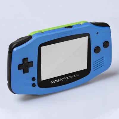 Game Boy Advance IPS Shell Kit (Pearl Blue/Green)