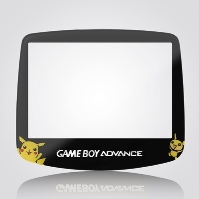 Game Boy Advance IPS Glass Screen (Pokemon)