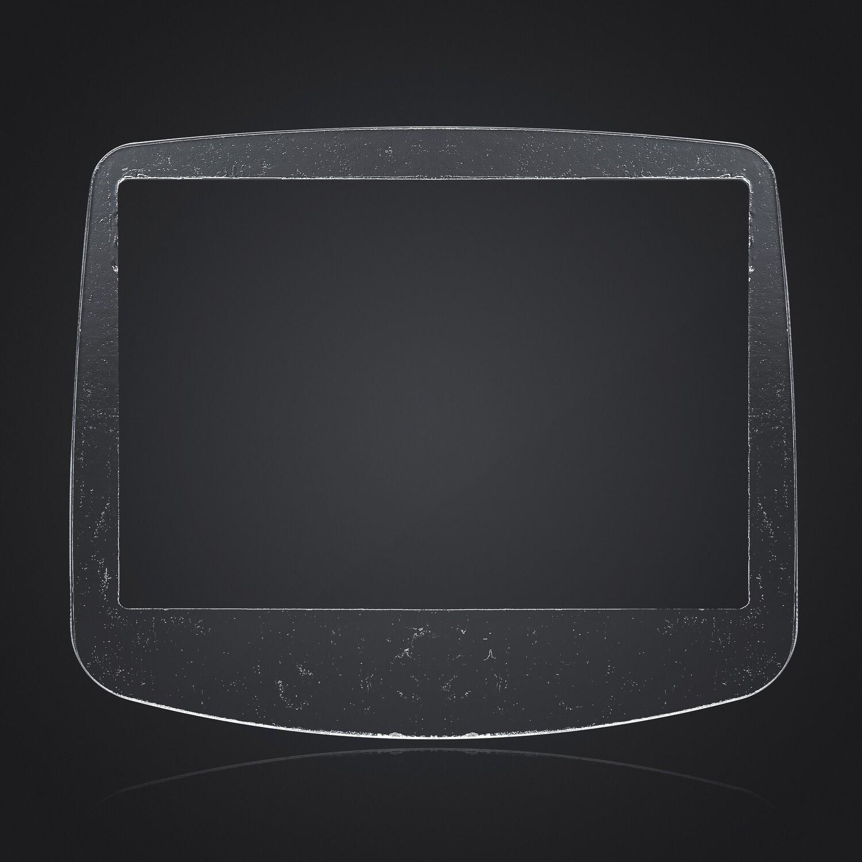Game Boy Advance IPS Glass Screen (Clear)