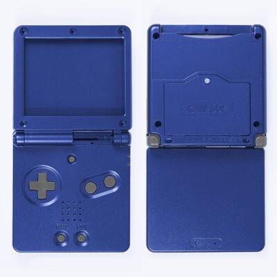 Game Boy Advance SP Shell Kit (Blue)