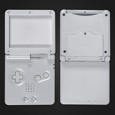 Game Boy Advance SP Shell Kit (Silver)