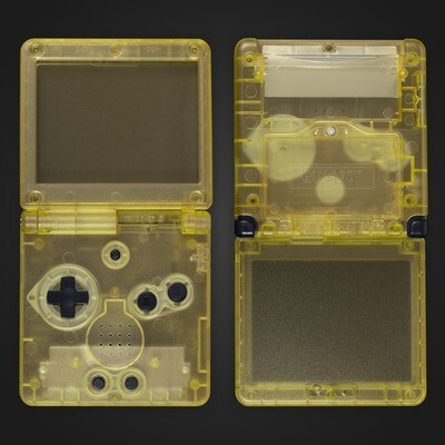 Game Boy Advance SP Shell Kit (Clear Yellow)