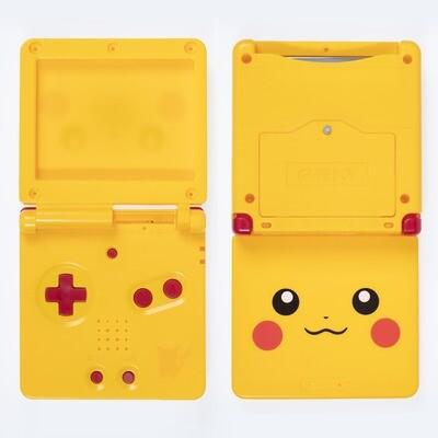 Game Boy Advance SP Shell Kit (Pikachu Yellow)