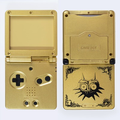Game Boy Advance SP Shell Kit (Zelda Gold)