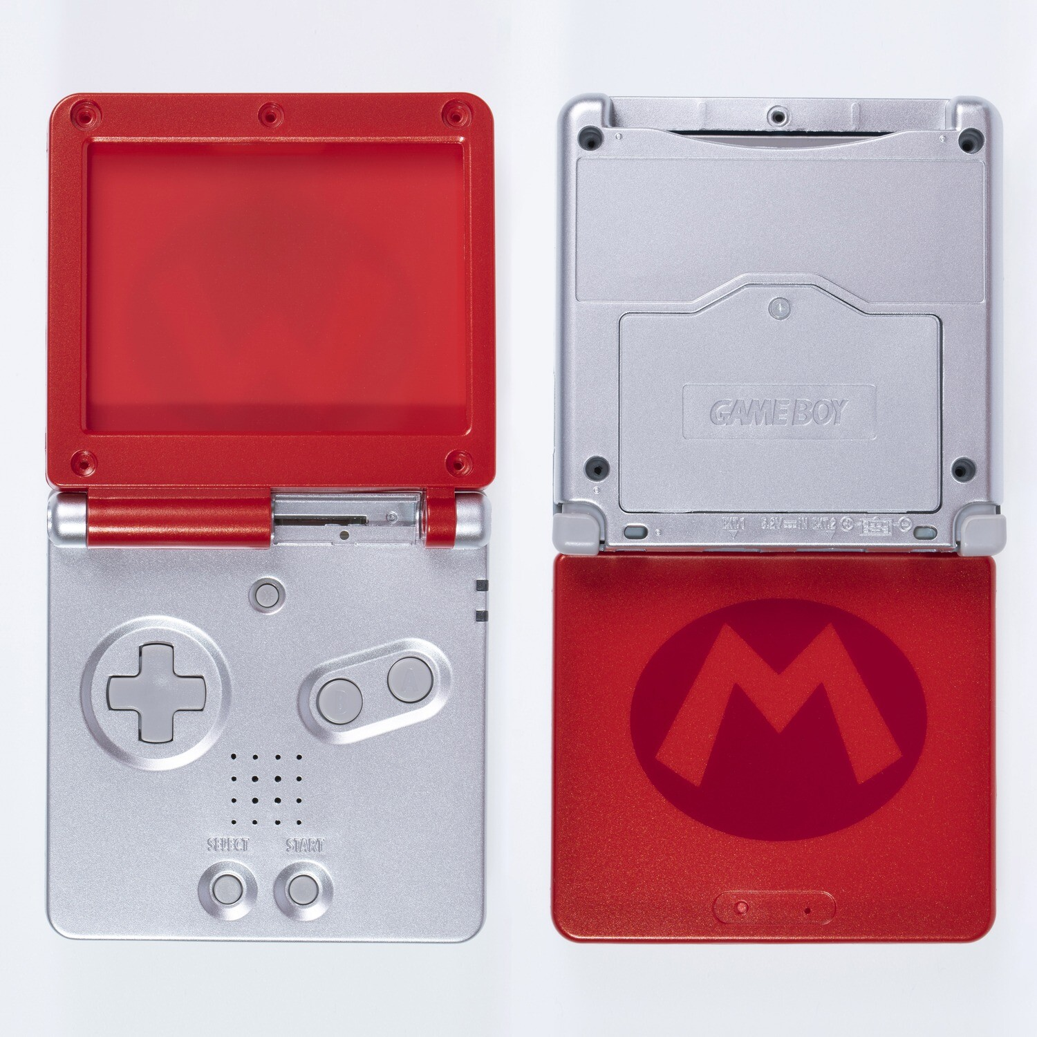 Game Boy Advance SP Shell Kit (Mario Red)
