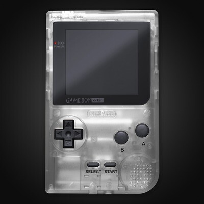 Game Boy Pocket Shell Kit (Clear)