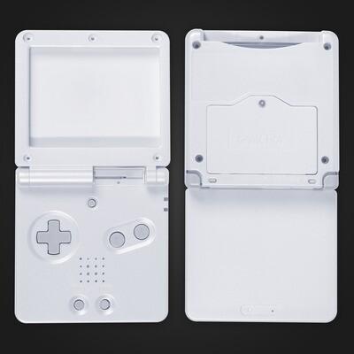 Game Boy Advance SP Shell Kit (White)