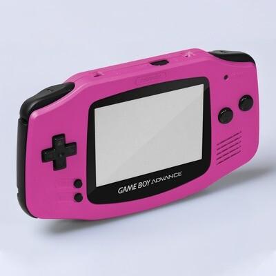 Game Boy Advance IPS USB-C Shell Kit (Pearl Pink)