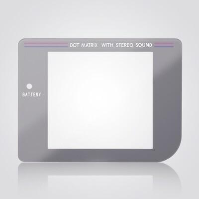 Game Boy Glass Screen (Grey)