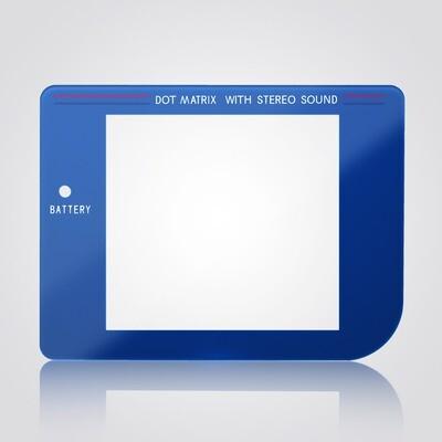 Game Boy Glass Screen (Blue)