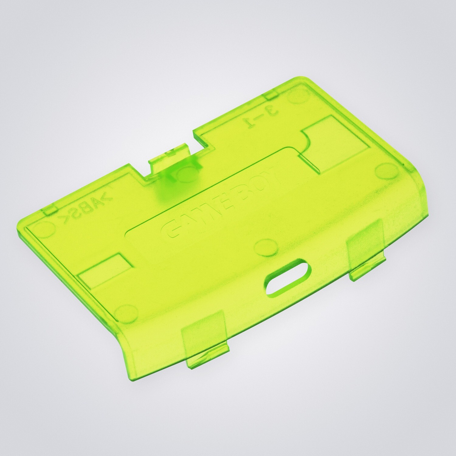 Game Boy Advance USB-C Battery Cover (Clear Yellow)