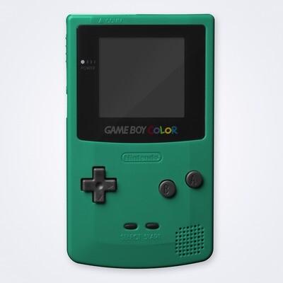 Game Boy Color Shell Kit (Teal)