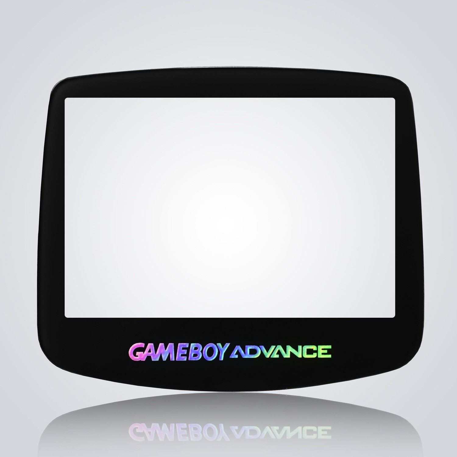 Game Boy Advance IPS Glass Screen (Black Holographic)