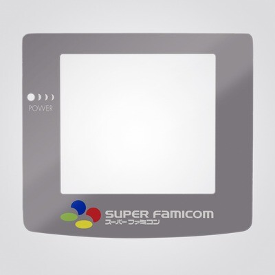 Game Boy Color Glass Screen (SFC Super Famicom)