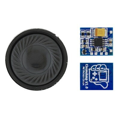 CleanAmp Audio Amplifier with Speaker - All GameBoy's