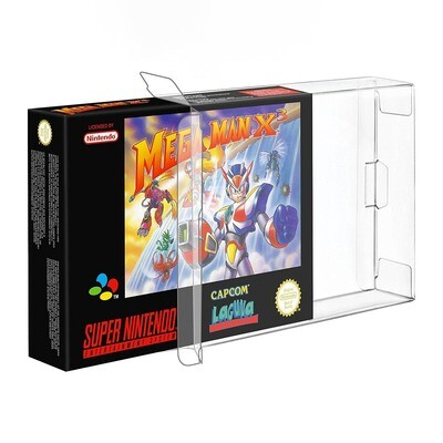 10x Protective Game Case for NES, SNES, N64