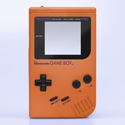 Game Boy Original IPS Shell Kit (Pearl Orange)