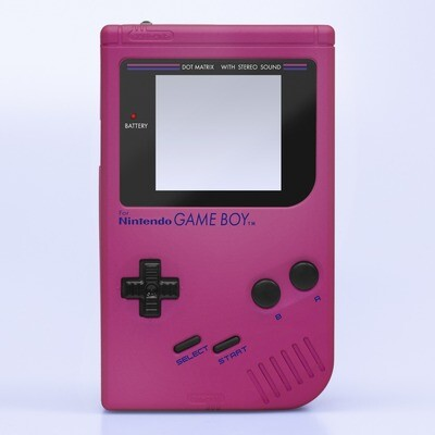 Game Boy Original IPS Shell Kit (Pearl Pink)