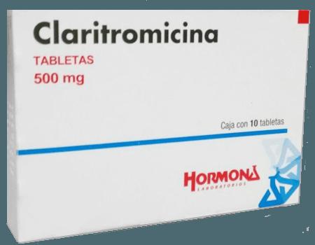 Claritromicina 500mg Caja Con 10 Tabletas