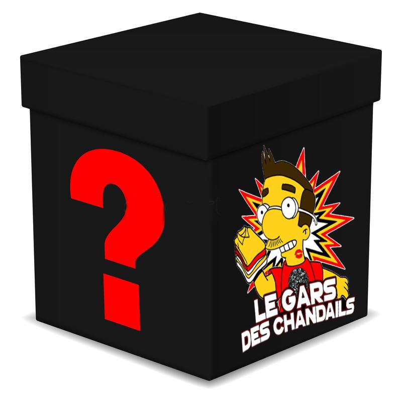LA FAMEUSE BOITE MYSTERE DU GARS DES CHANDAILS!