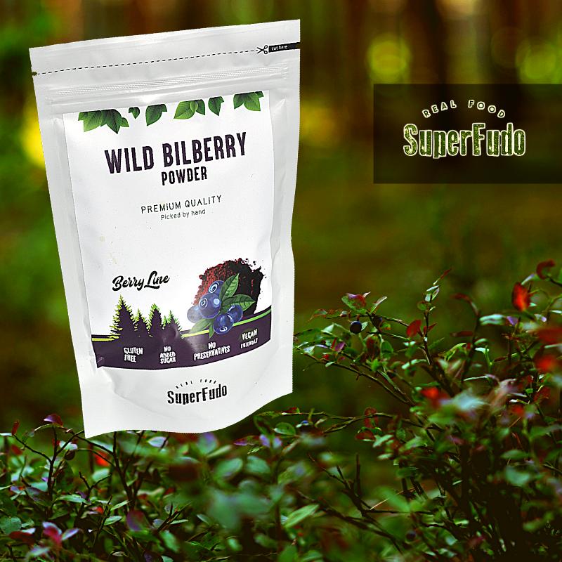 Wild Bilberry (blueberries) powder | PREMIUM Quality ~190g / ~6.7oz