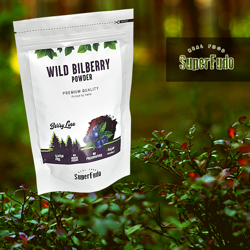Wild Bilberry (blueberries) powder | PREMIUM Quality ~190g / ~6.7oz