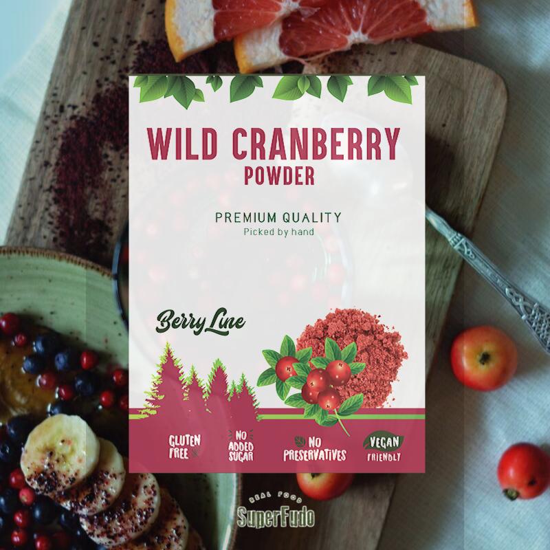 Wild Cranberry powder | PREMIUM Quality  ~190g / ~6.7oz