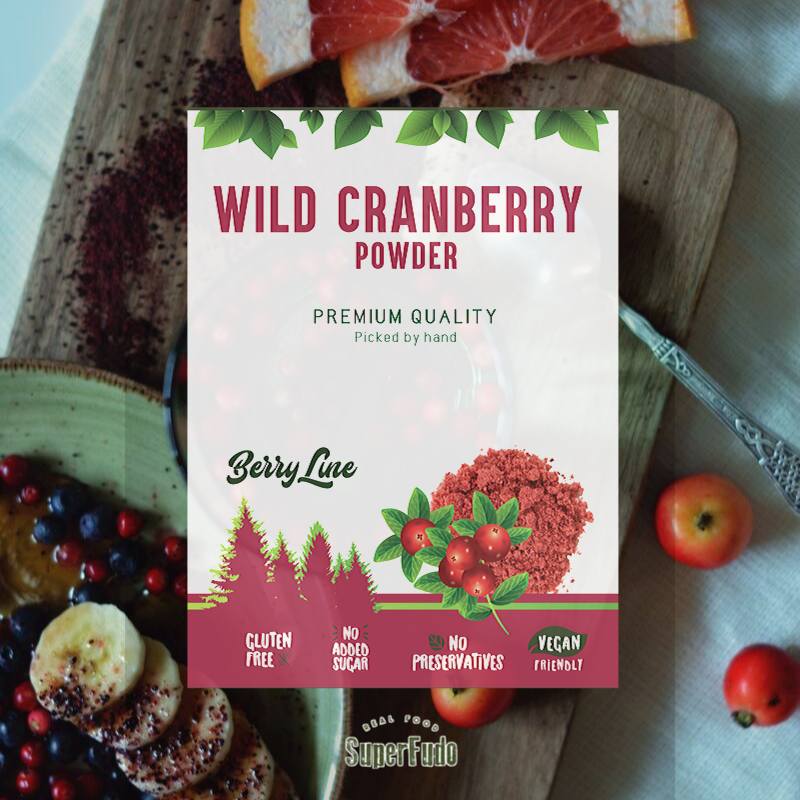 Wild Cranberry powder | PREMIUM Quality  ~90g / ~3.17oz
