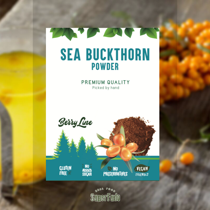 Sea Buckthorn powder | PREMIUM Quality ~90g / ~3.17oz