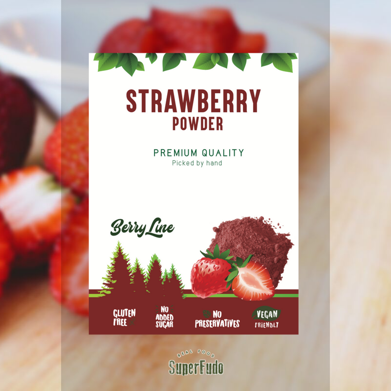 Strawberry powder | PREMIUM Quality ~90g / ~3.17oz