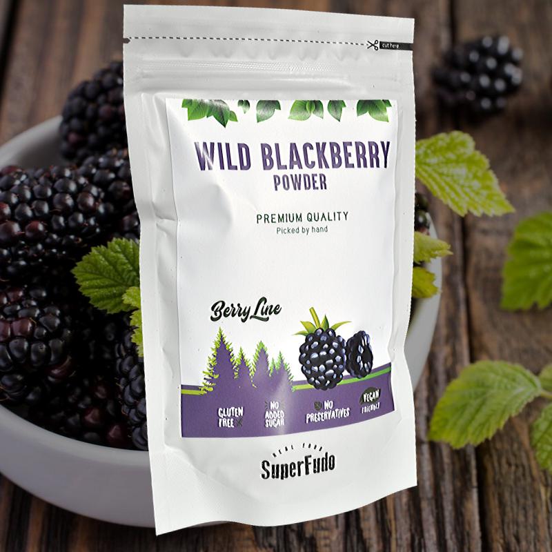 Blackberry powder (wild)| PREMIUM Quality ~190g / ~6.7oz