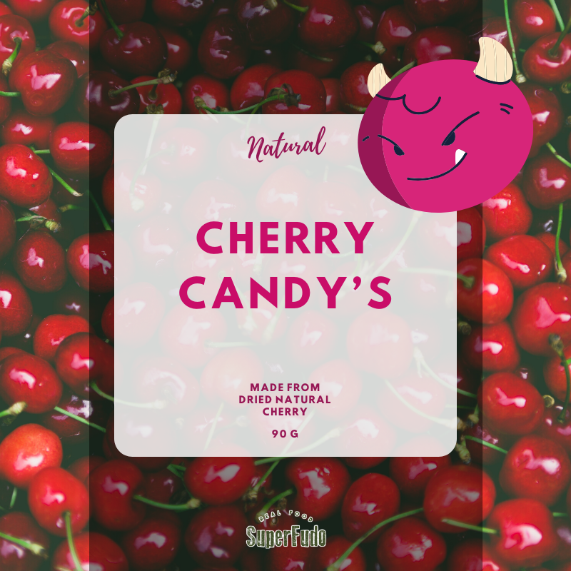 Cherry Candy's - 90g | 3.17 oz (Special Way dried Cherry - no sugar added)
