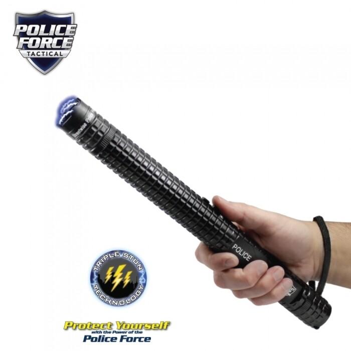 Police Force 12,000,000 Tactical Stun Baton