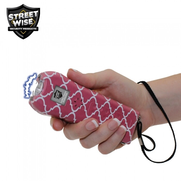Streetwise Ladies' Choice 21,000,000 Stun Gun Quatrefoil with alarm