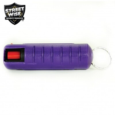 Lab Certified Streetwise 18 Pepper Spray, 1/2 oz. Hard Case BLUE