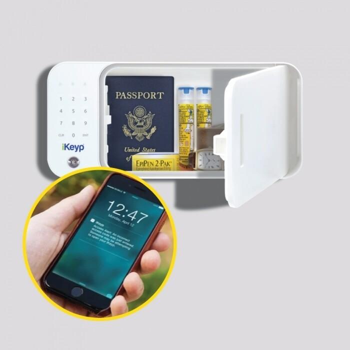iKeyp Bolt Smart Storage Safe w/Bolt Installation