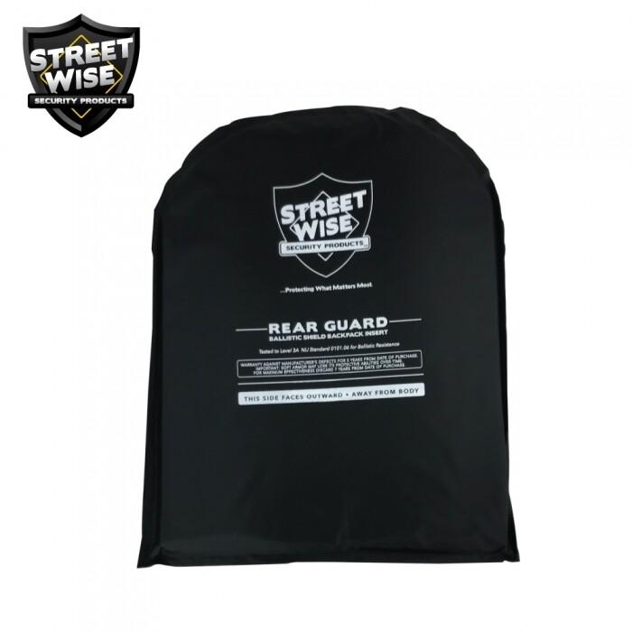 Streetwise 10x13 Rear Guard Ballistic Shield Backpack Insert