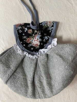 Frilly Floral Hanging Hand Towel