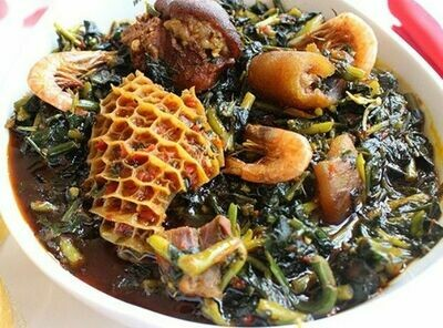 Vegetable - Edikan Ikong (Pot Service)