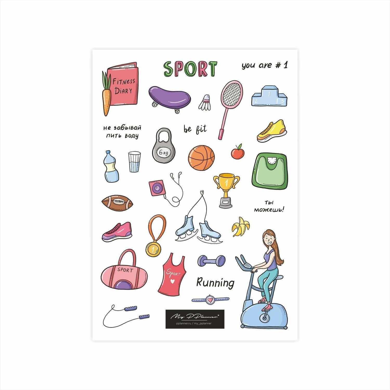 Стикер «Спорт»