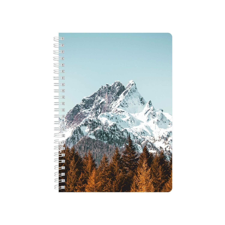 Планер Еженедельник строгий с обложкой «Горы»