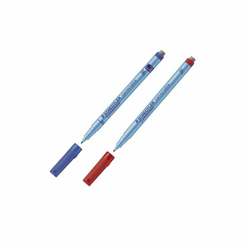Набор цветных маркеров Staedtler Lumocolor (2шт)