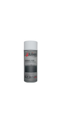 JULIEN PEINTURE VERNIS FER BRILLANT NEUF ROUILLE METAUX 3256615110086 PRO 400 ML SPRAY PAINT DECORATION ART BRICOLAGE RENOVATION RENOVER BOMBE COMASOUND KARTEL CSK ONLINE