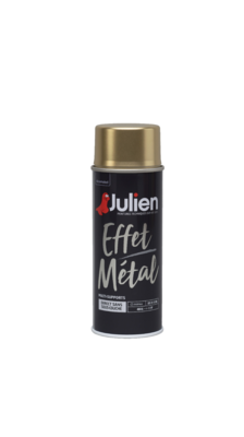 JULIEN PEINTURE EFFET METAL OR GOLD 3256615070229 PRO 400 ML SPRAY PAINT DECORATION ART BRICOLAGE RENOVATION RENOVER BOMBE COMASOUND KARTEL CSK ONLINE