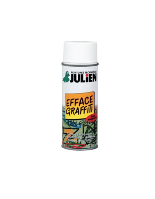 JULIEN PEINTURE EFFACE GRAFFITI ANTI  NEUF ROUILLE METAUX 3256611710013 PRO 400 ML SPRAY PAINT DECORATION ART BRICOLAGE RENOVATION RENOVER BOMBE COMASOUND KARTEL CSK ONLINE