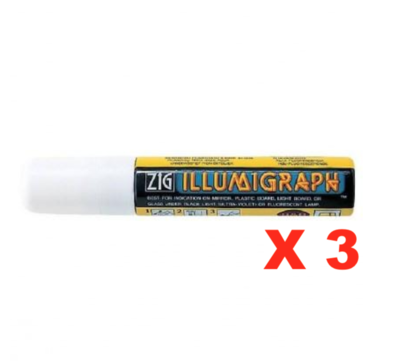 ZIG ILLUMIGRAPH DECORATION VITRINE SHOP STORE WHITE BLANC MARQUEUR MARKER ART GRAFFITI SKETCH DRAW ARTISTE TAG SHOP PRO 7640143990634 COMASOUND KARTEL