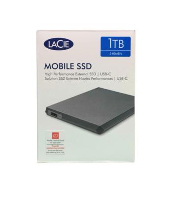 LACIE MOBILE SSD 1TB HARD DISK DISQUE DUR USB-C APPLE MAC MEMORY MEMOIRE EXTERNE 0763649131749 COMASOUND KARTEL 3660619405510 CSK ONLINE