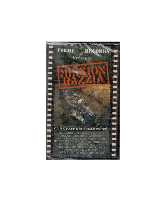 MIXTAPE MISSION RAZZIA FIRME RECORDS MIX TAPE RARE COLLECTOR SON MUSIC MUSIQUE COMASOUND KARTEL CSK ONLINE