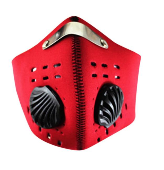 MASQUE VELO CYCLE MASK RED PROTECTION POLLUTION  VISAGE CAGOULE VETEMENT ACCESSOIRE CHAPEAU DECO VETEMENT CLOTHING APPAREL WEAR GRAFFITI COMASOUND KARTEL CSK ONLINE RED